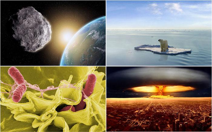 Самые серьезные угрозы, которые могут привести к гибели человечества