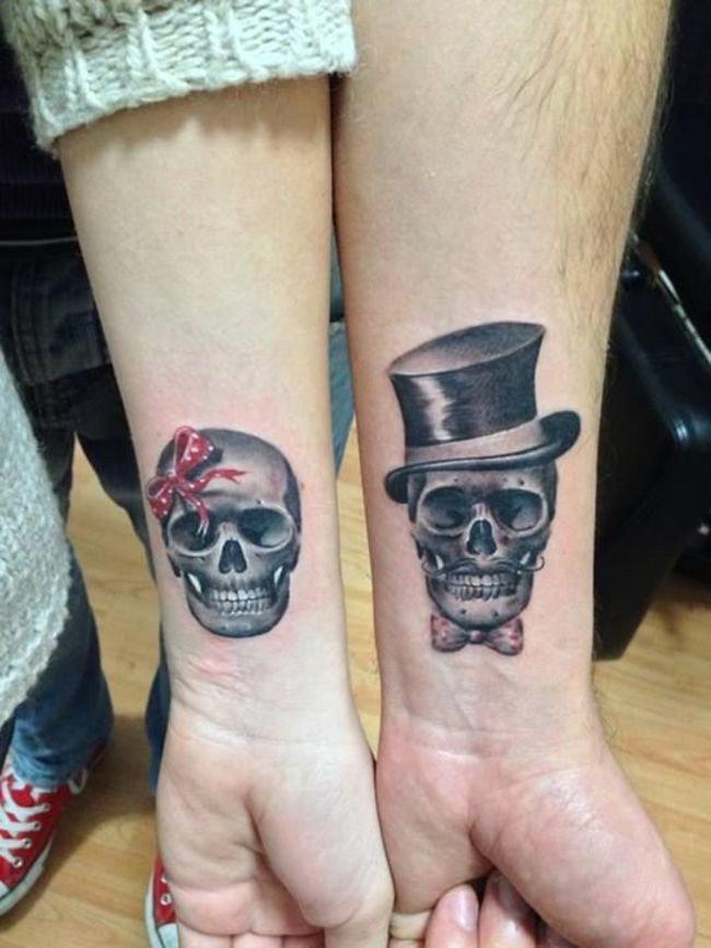 Татуировки из двух половинок