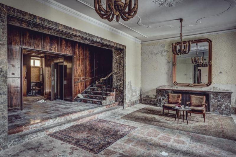 Заброшенные роскошные гостиницы