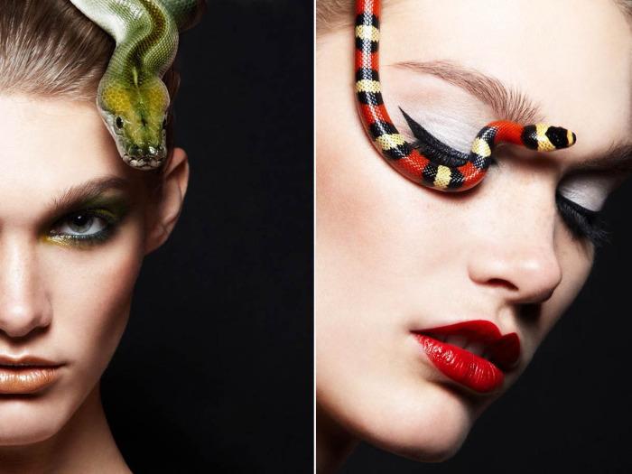 Женщины и змеи в объективе Александры Лерой