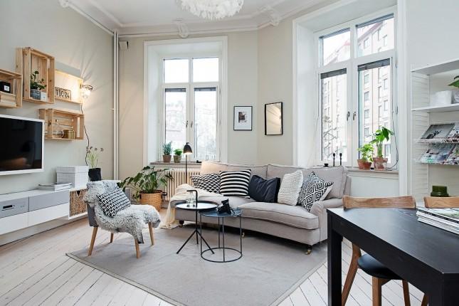 20 идей для их дизайна маленькой квартиры-студии