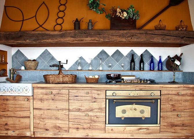 20 красивых кухонь из натурального дерева