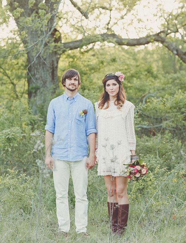 Альтернативные свадебные наряды