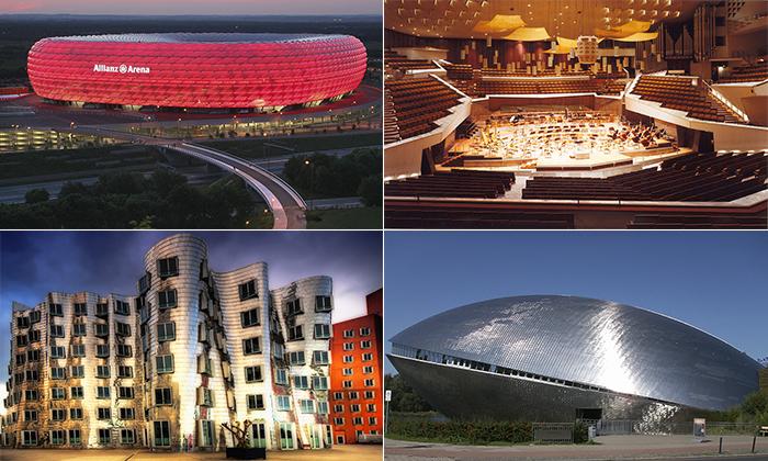 Архитектурные шедевры современной Германии