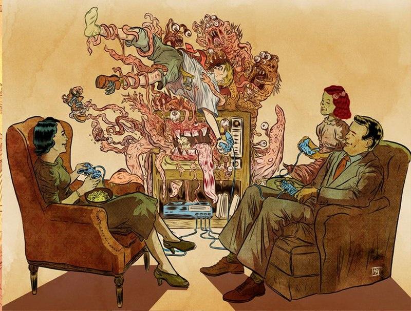 Иллюстрации Рафаэля Альвареса