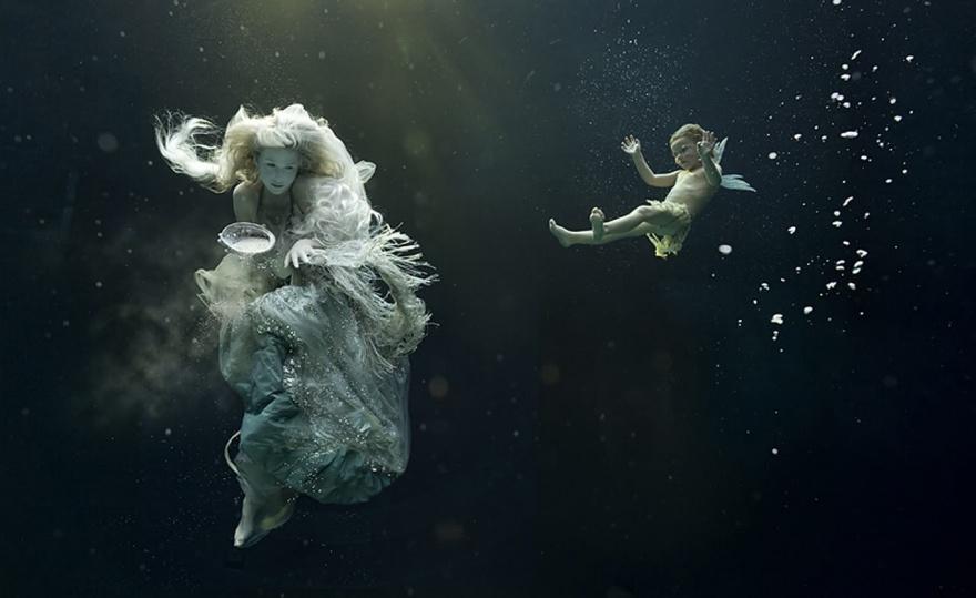 Подводные портреты от Зены Холлоуэй