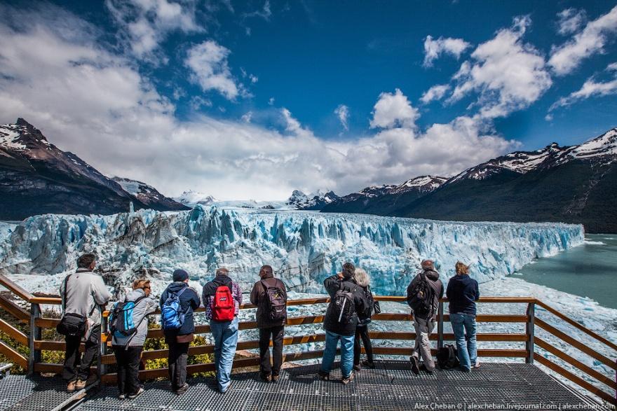 Путешествие на ледник Перито Морено в Патагонии