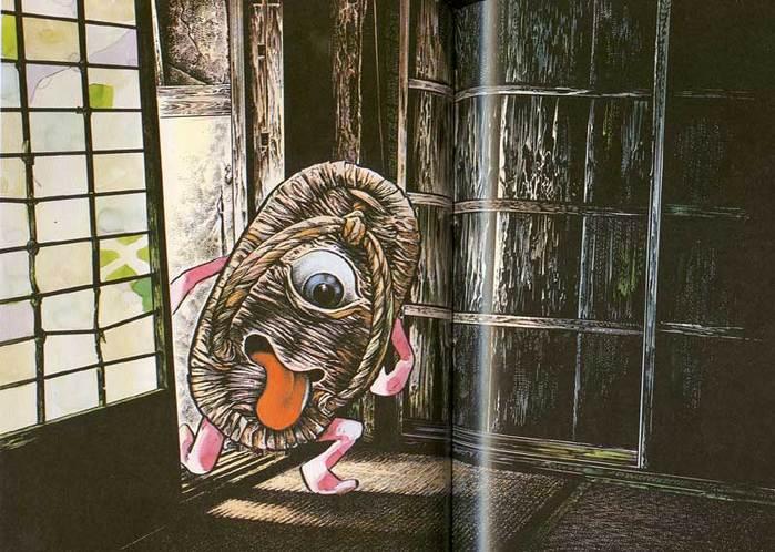 Странные мифические существа японского фольклора