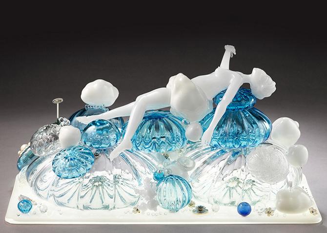 Удивительные произведения искусства из стекла от Кармен Лозар