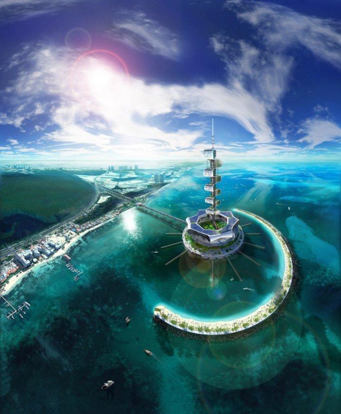 Уникальный проект эко-острова Grand Cancun