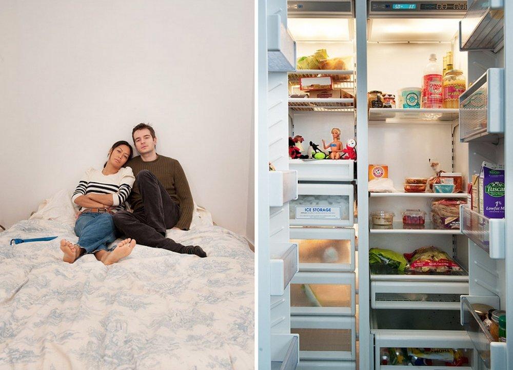 В твоём холодильнике — фотопроект Стефани де Руж