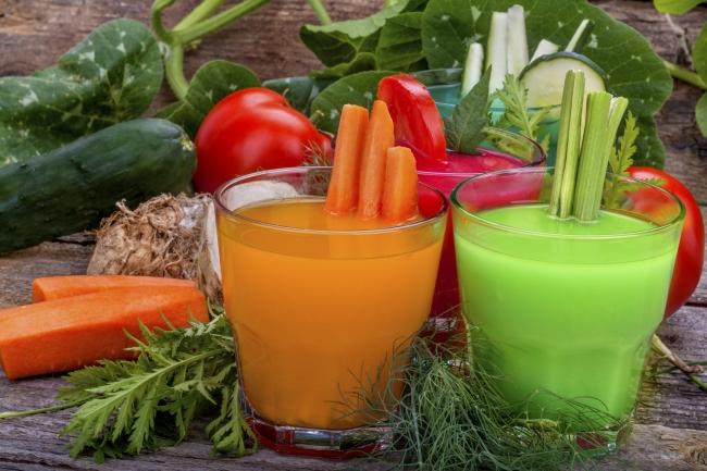 Влияние овощных соков на организм
