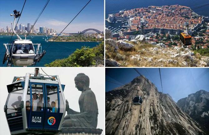 20 лучших канатных дорог мира