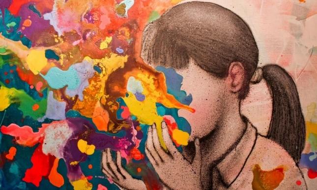 Душевные граффити Жульена Малланда