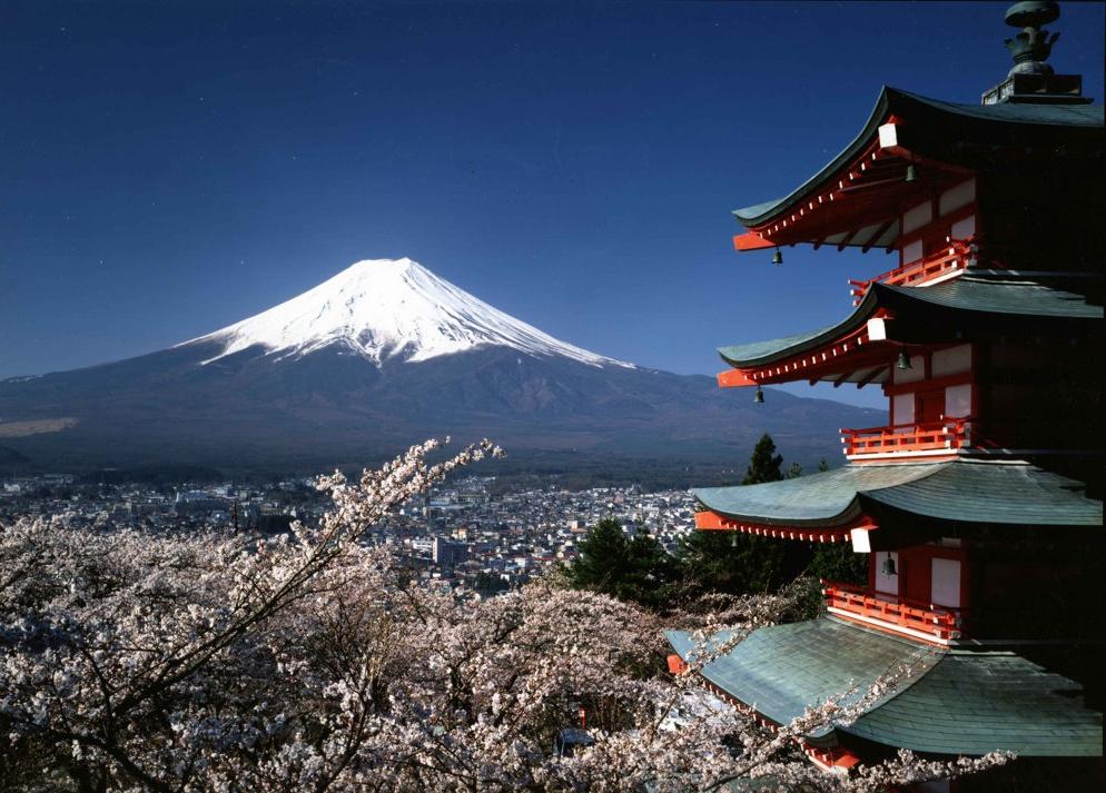 Достопримечательности городов Японии