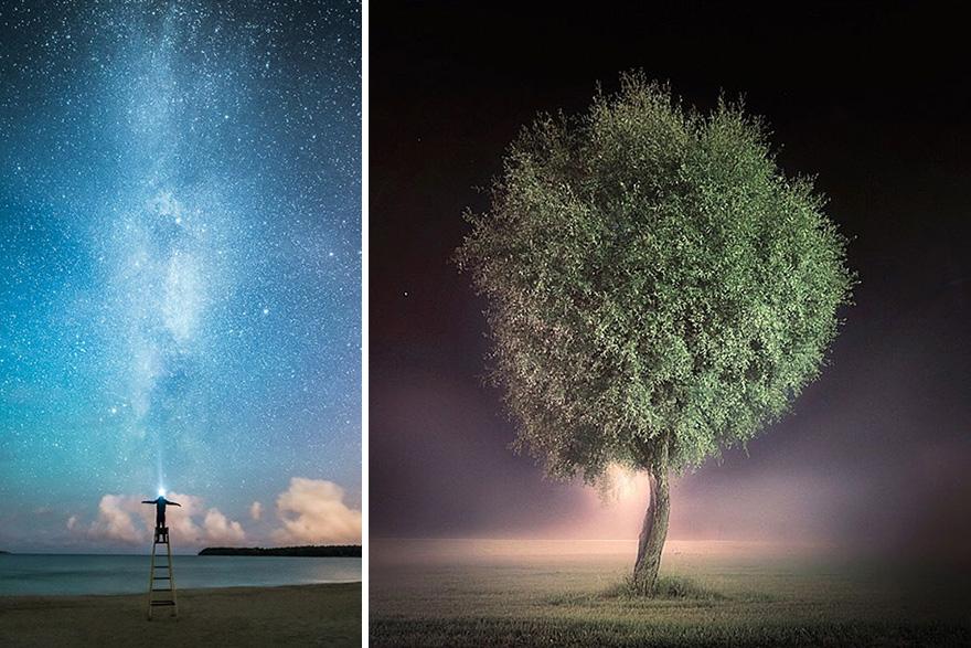 Ночные фотографии Микко Лагерстедта