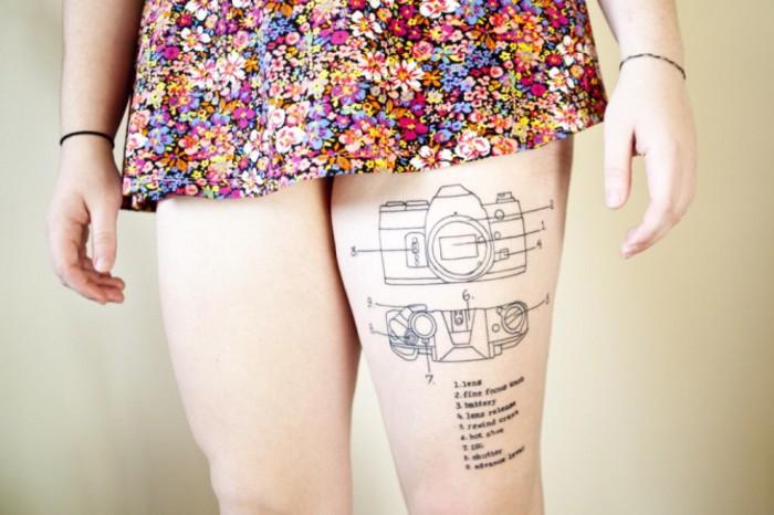 8 татуировок-инструкций, которые могут быть полезными для окружающих