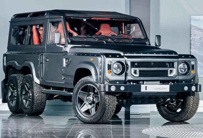 9 эксклюзивных моделей Land Rover Defender, созданные в 2015 году
