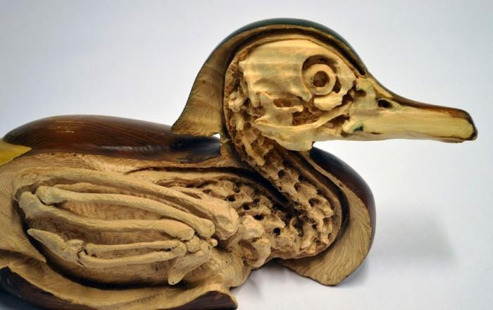 Анатомические формы из дерева от Мэскула Лассера