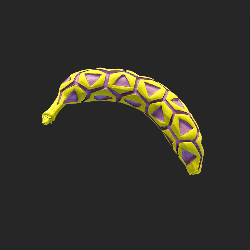 Бананы с узорами от Дана Крецу