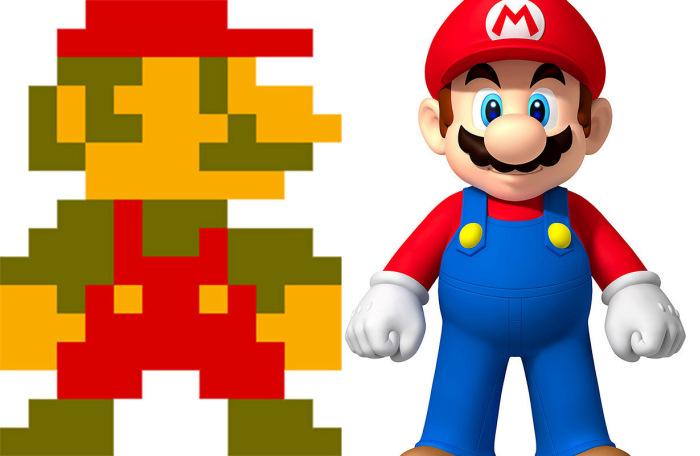 Эволюция персонажей компьютерных и видеоигр