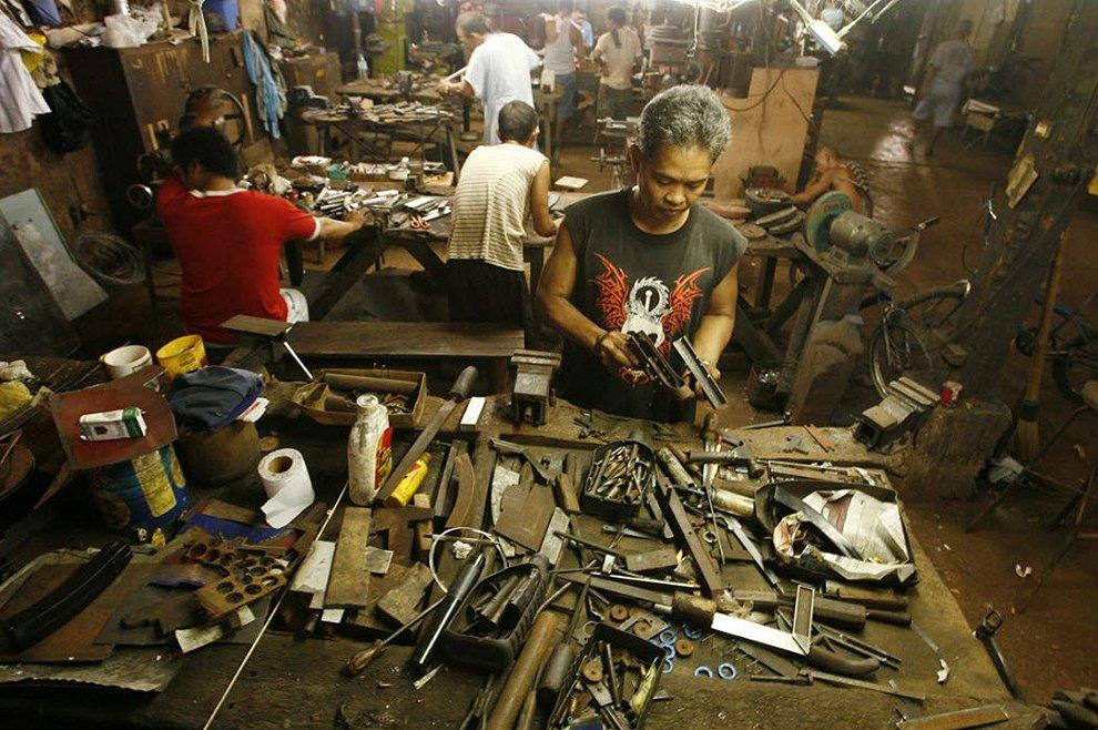 Город оружия на Филиппинах