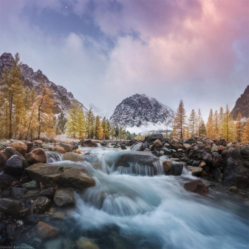 Красота природы в фотографиях Даниила Коржонова