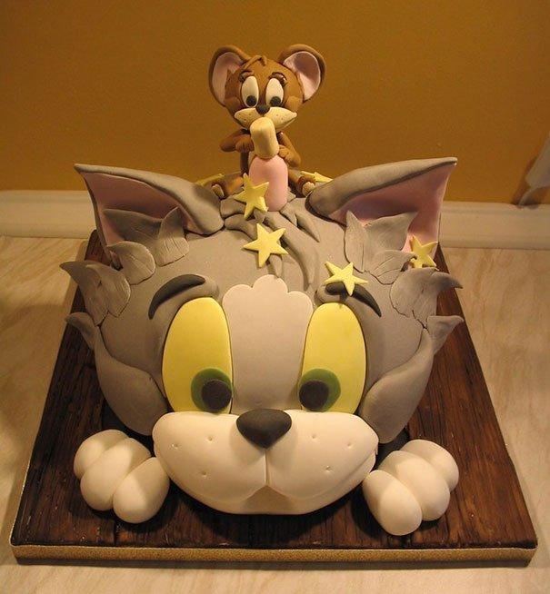 Необычные и оригинальные торты
