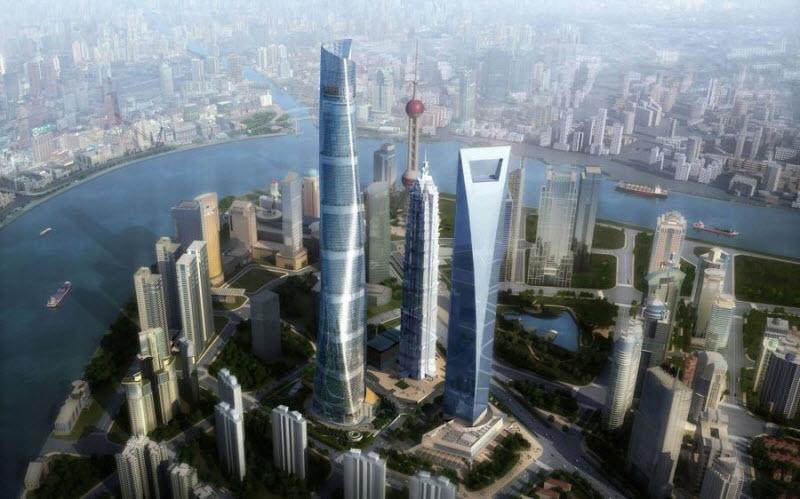 Необычные здания будущего, которые еще строятся