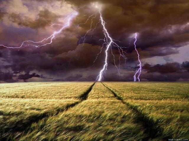 Основные виды молний