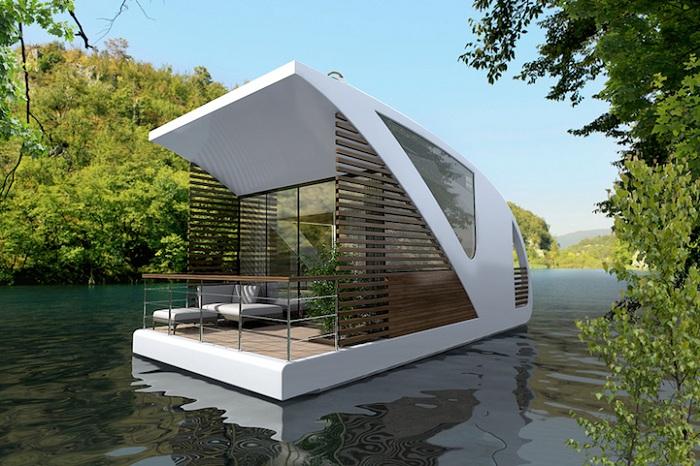 Отель-катамаран, для любителей отдыха на воде