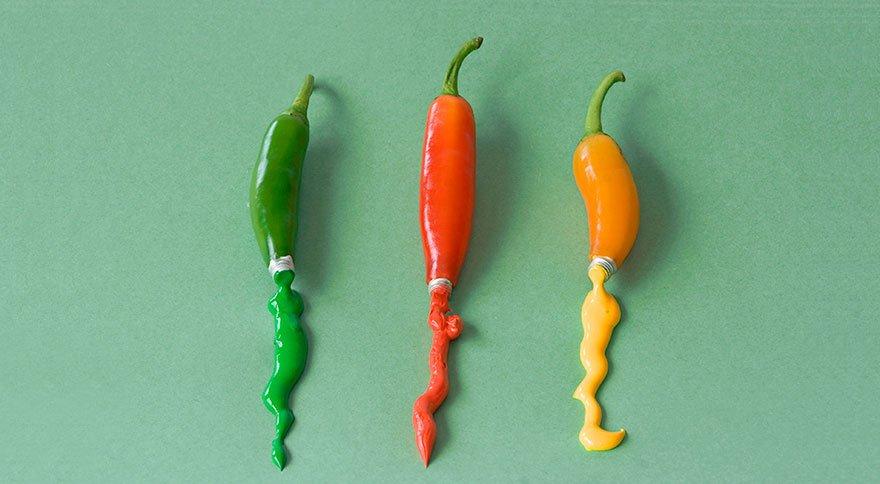 Овощи и фрукты в фантазиях фуд-дизайнера Дэна Крету