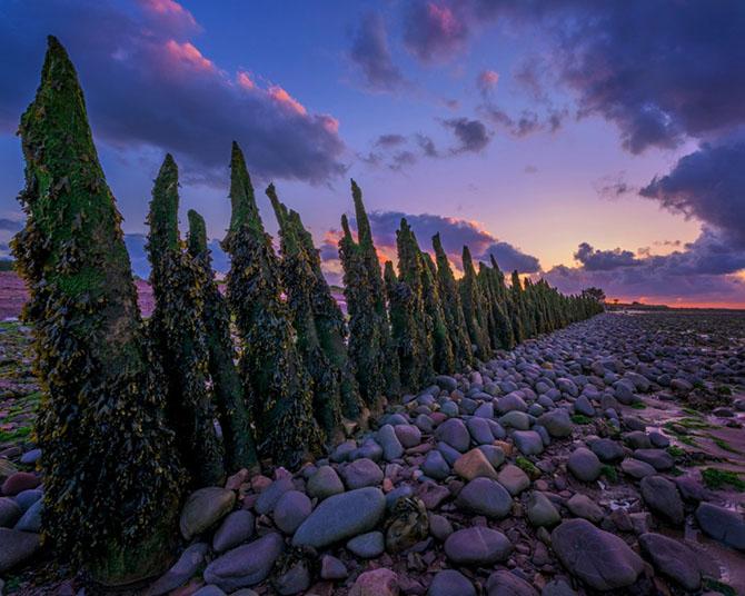 Романтичные закаты в английских графствах Сомерсет и Девон