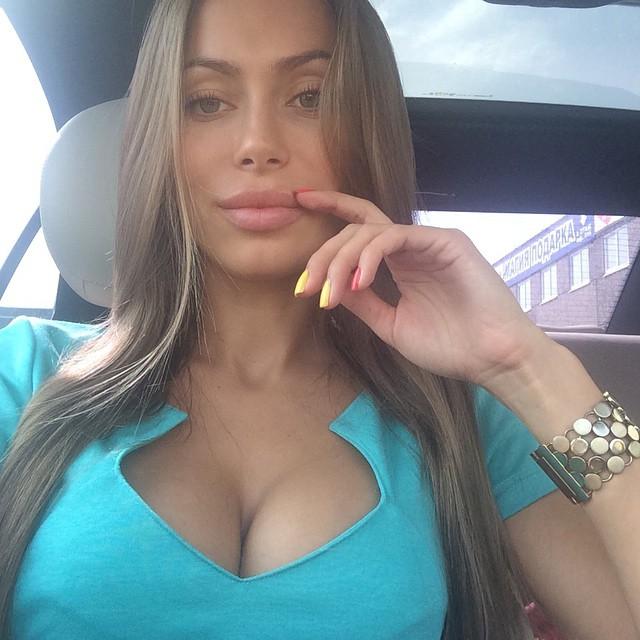 Российские девушки популярные в Instagram