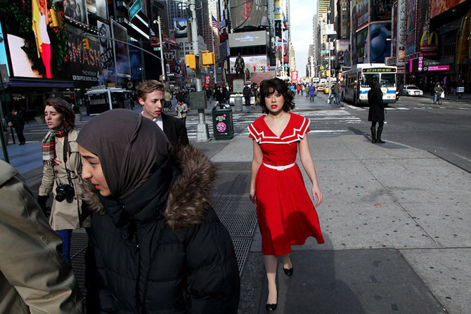 Фотографии с улиц Нью-Йорка от Шэйна Грейя