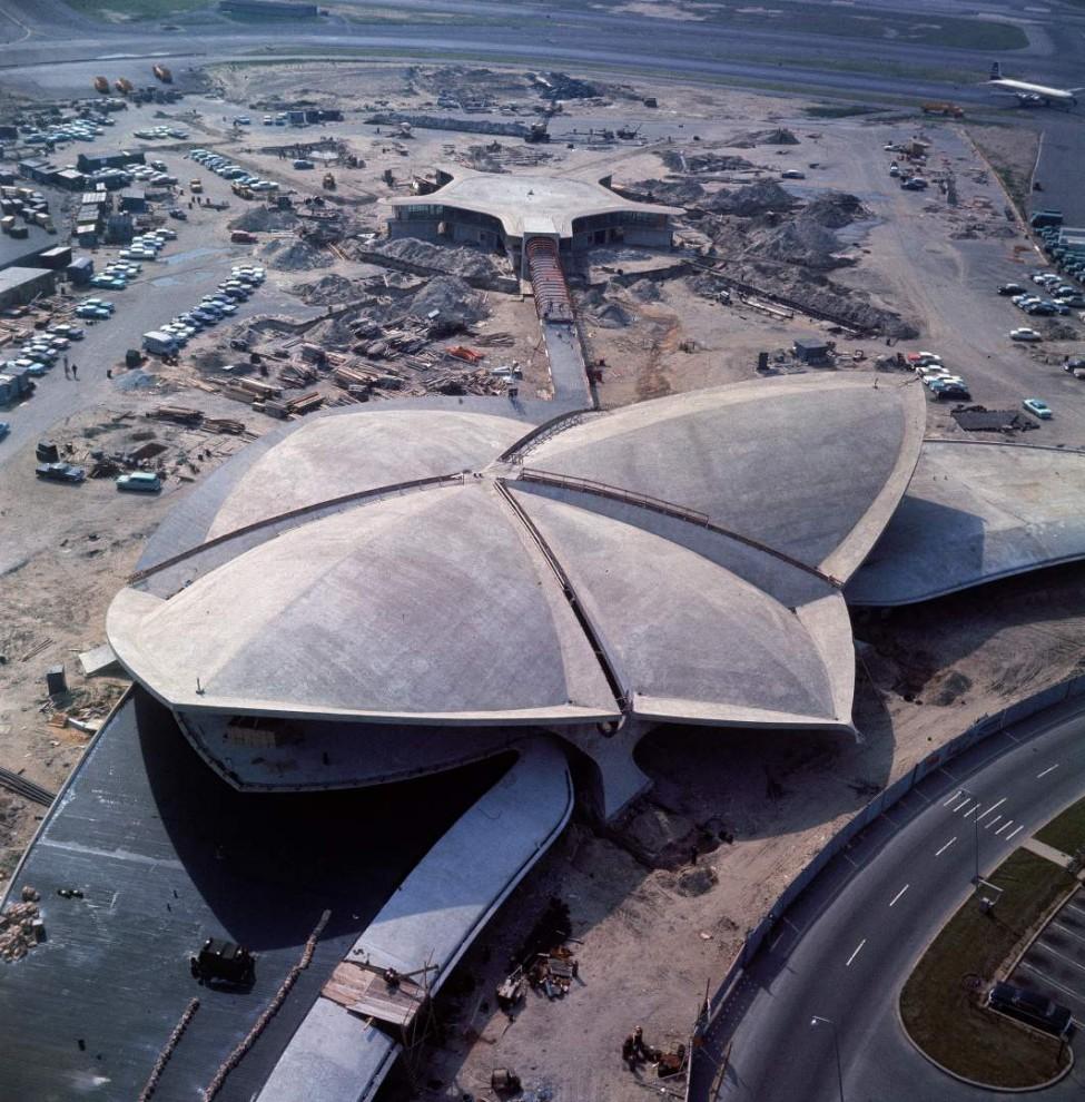 Как выглядел международный аэропорт имени Джона Кеннеди в 1961-м году