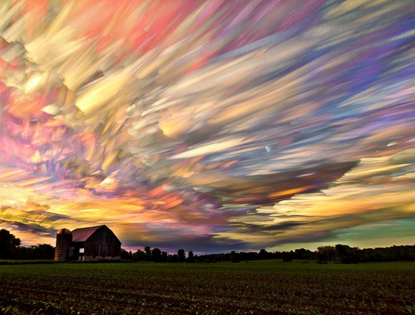 Картины неба от фотографа Мэтта Моллоя