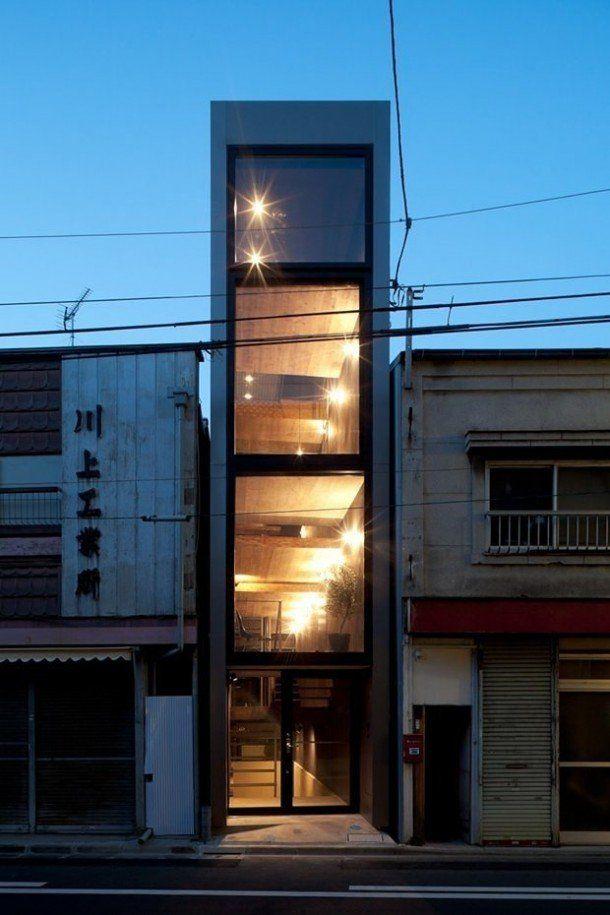 Компактный японский дом с удивительным интерьером