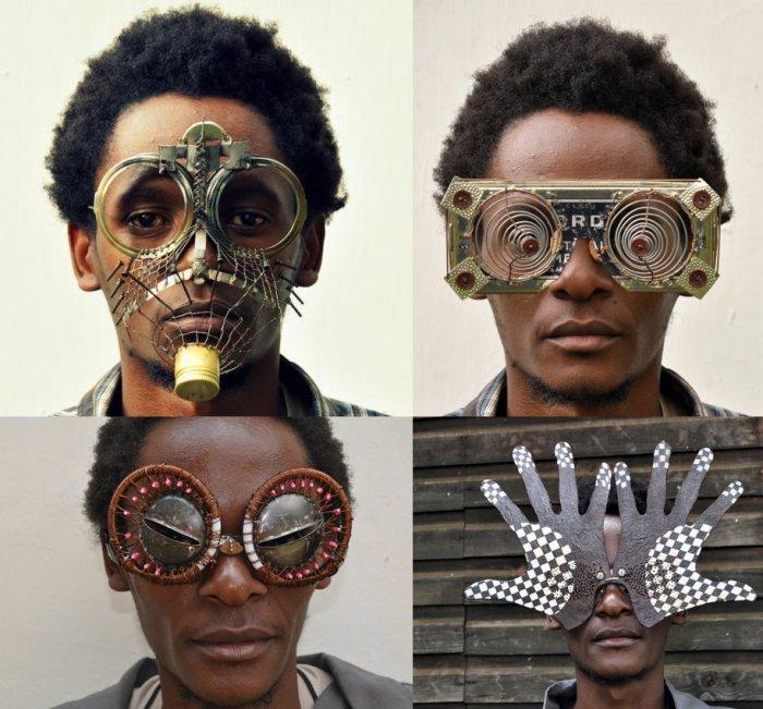 Необычные очки со свалки от Сайруса Кабиру