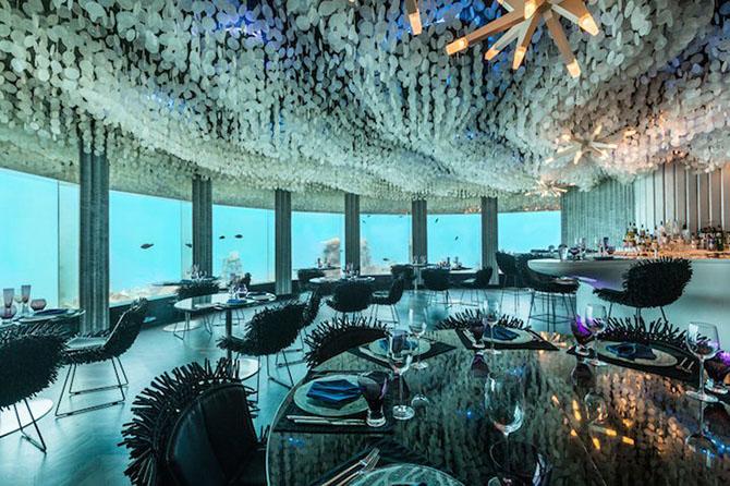 Подводный ресторан «Per Aquum»