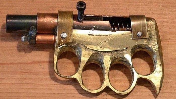 Самодельное оружие из преступного мира