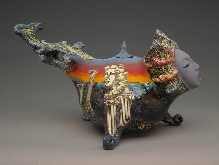 Сюрреалистические скульптуры от Наташи Дикаревой