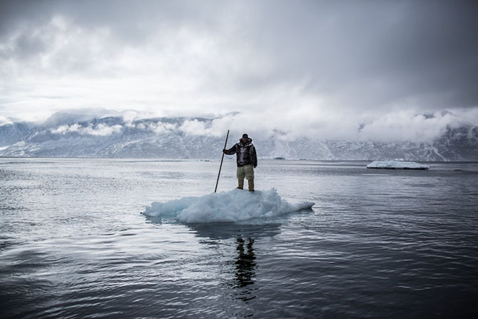 Жизнь охотников и рыбаков на севере Гренландии