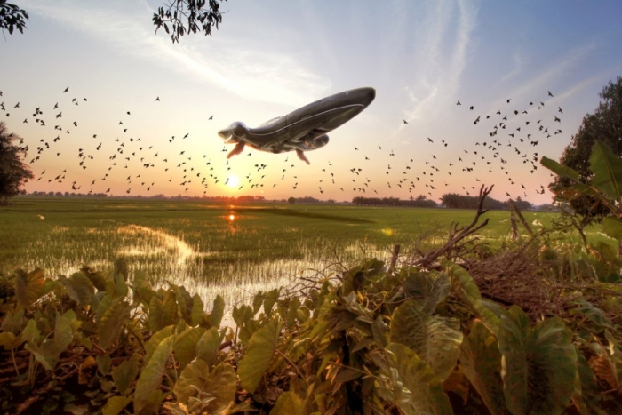 Звездные войны над рисовыми полями Малайзии