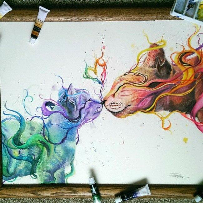 17-летняя художница-самоучка создает потрясающие рисунки