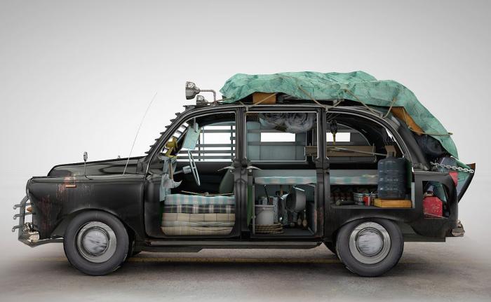 Автомобили на случай зомби-апокалипсиса