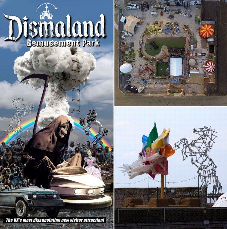 Мрачный Диснейленд — парк Dismaland от Бэнкси