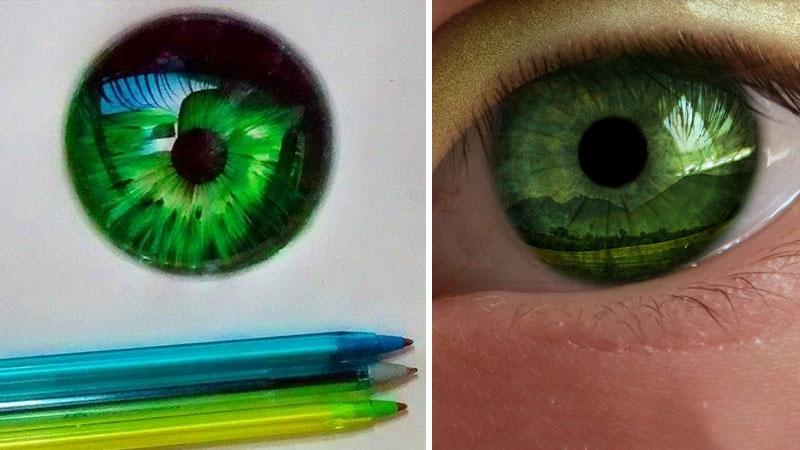 Реалистичные рисунки шариковыми ручками от Gelson Fonteles