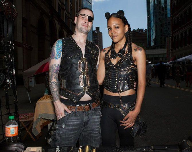 Слет колдунов и ведьм Нью-Йорка WitchsFest 2015