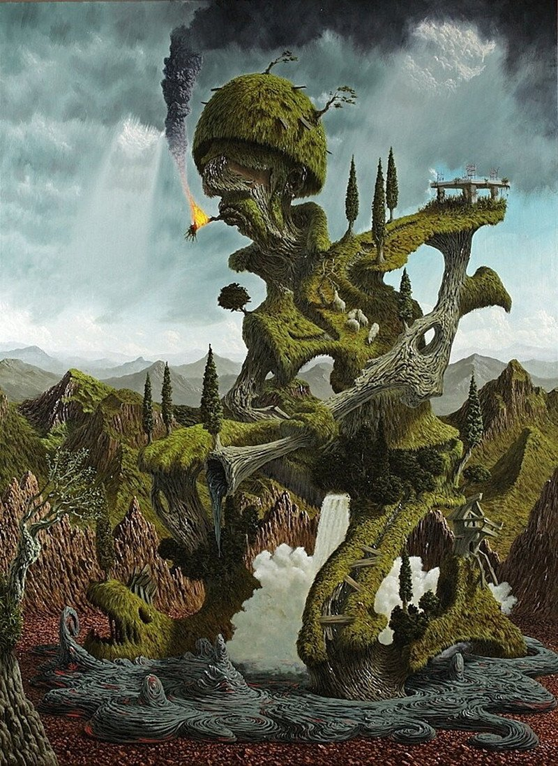 Сюрреалистичные картины маслом от Фульвио ди Пьяцца
